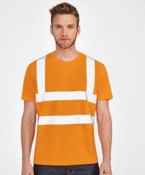 Tričko s reflexními pruhy