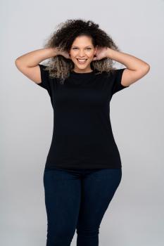 Dámské nadměrné tričko CURVES