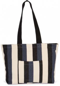 Recyklovaná nákupní taška - Pruhovaný vzor