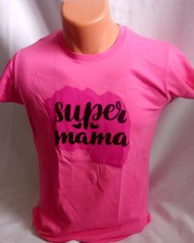 Dámské tričko - super máma