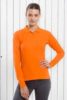 Dámská polokošile dlouhý rukáv Piqué Lady - Výprodej