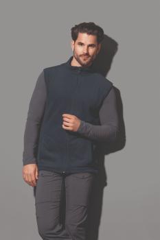 Pánská fleecová vesta Active