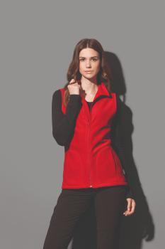 Dámská fleecová vesta Active Stedman - zvětšit obrázek