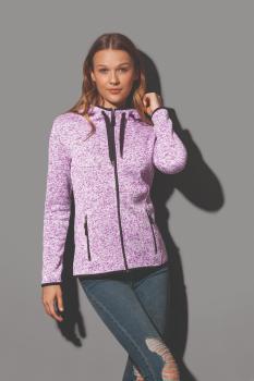 Dámská mikina Active Knit Fleece - zvětšit obrázek