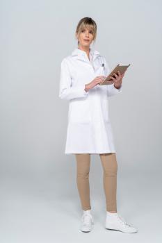 Dámský zdravotnický plášť